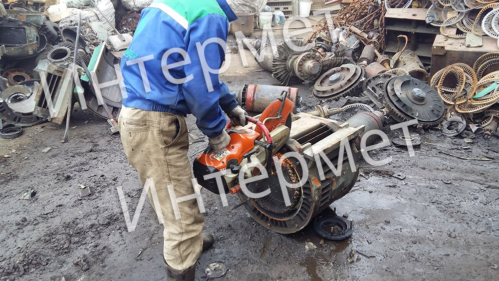 сдать металл с вывозом в Чернево
